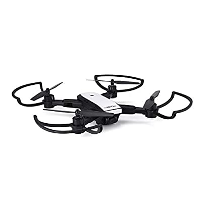 8Eninine X28 Foldable GPS RC Drone with Adjustable 720P Wifi HD Camera Altitude Hold White