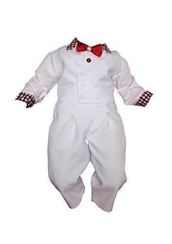 Unbekannt - Costume de baptême - Bébé (garçon) 0 à 24 mois blanc blanc 446caad7aac