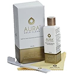 Aura Gold Clean™ ZERO Gold Loss Jewellery Cleaner for Gold, Platinum, Diamonds and Natural Gemstones