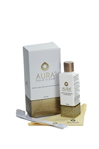 Aura Gold Clean Carton White and Gold Jewelry Cleaner
