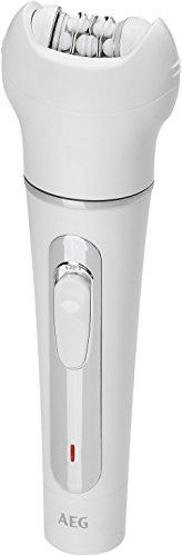 AEG LBS 5691 Blanco - Depiladora (Blanco, 100-240 V, 50/60 Hz, Níquel-metal hidruro (NiMH), 42 mm, 44 mm)