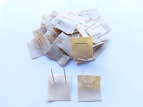 Okulations-Schnellverschluss, Okulette, 35 x 32 x 0,40 mm, selbst veredeln, 50 Stück