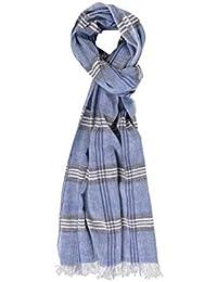 5ff1723d594 Gotby - Echarpe - Homme Bleu bleu Taille Unique