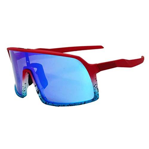 SMEI 3 Objektiv Uv400 Polarisierte Radfahren Sonnenbrille Radfahren Brille Mountainbike Brille Fahrrad Brille Fahrrad Fahrrad Brille SU4