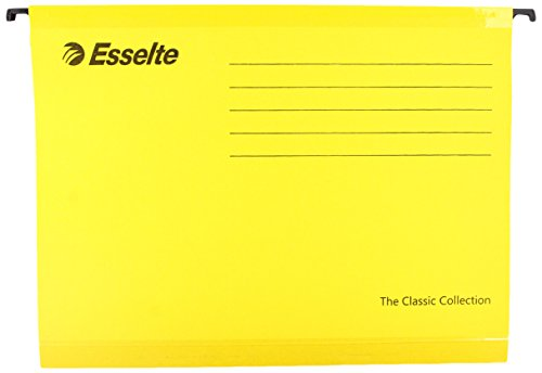 esselte-the-classic-collection-lot-de-25-dossier-suspendu-jaune-a4-import-royaume-uni