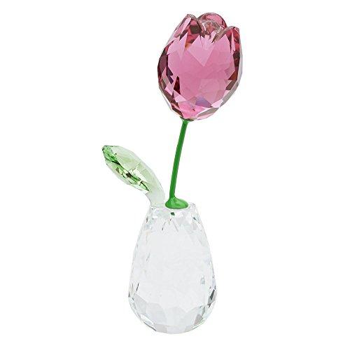 Swarovski fiore sogni della rosa tulipano figura, cristallo, multicolore, 7.2x 2.1x 3.2cm