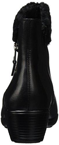 ROMIKA Banja 12, Bottes courtes avec doublure chaude femme Noir - Noir