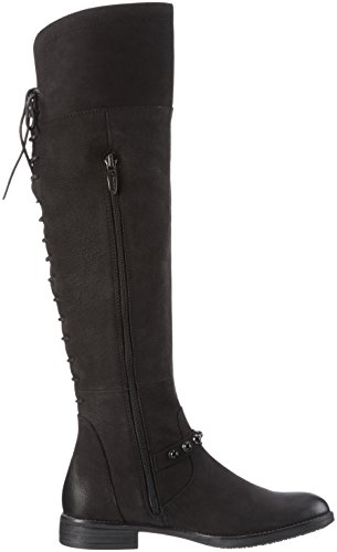 Tamaris 25506, Bottes haute  Femme Noir (Black 001)