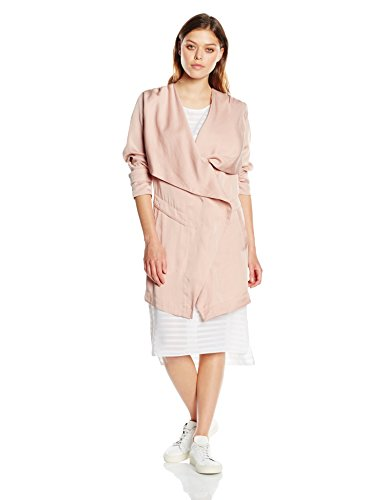 BOSS Casual Damen Mantel Odrapa, Rosa (Bright Pink 677), 42