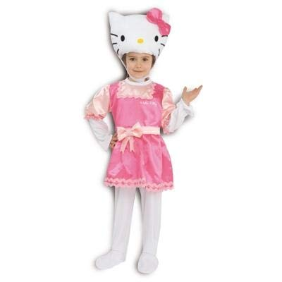 P&g 07842 costume di carnevale da hello kitty taglia 3-7/8 anni