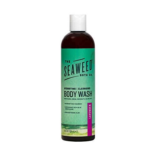 Sauvagement Natural Seaweed Body Wash, Lavande, 12 fl oz (360 ml) - Seaweed Bath Co.