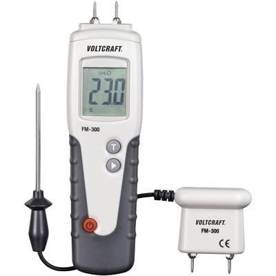 Feuchtigkeitsmessgerät für Materialien Voltcraft fm-300Luftfeuchtigkeit von Baumaterialien (Temperaturbereich) 6bis 99