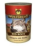 Wolfsblut Dose Red Rock 6 x 395g - mit 66% Kängurufleisch