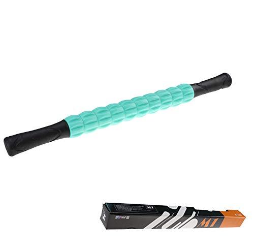 LQFLD Fitness Body Massage Roller Stick, Muscle Roller Massage Stick, Self Myofascial Release Tool Für Druckstellen, Muskelkater Und Schmerzlinderung,Green
