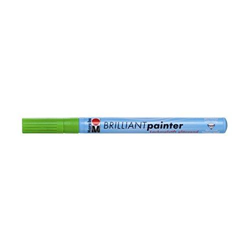 Marabu Brilliant Tip, Maler Marker, Kiwi, 1,2x 14,4x 1,2cm - Maler-stiefel