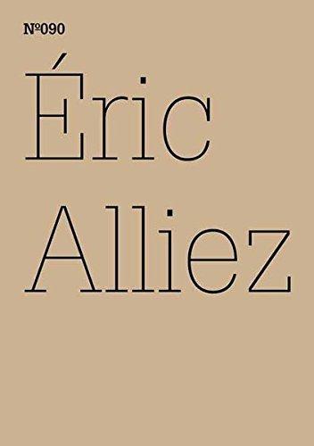 Éric Alliez: Diagramm 3000 [Worte] (100 Notes-100 Thoughts Documenta 13) (Documenta 13: 100 Notizen - 100 Gedanken) by Eric Alliez (2012-06-15) (Worte Diagramm)