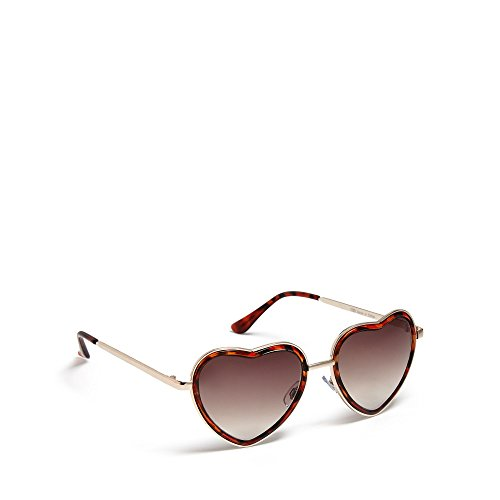 floozie-by-frost-french-womens-gold-heart-shaped-sunglasses