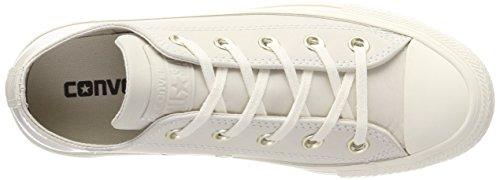 Converse Ctas Ox, Sneaker Unisex – Adulto Mehrfarbig (egret/egret/Driftwood)
