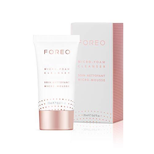 FOREO Micro-Foam Reiniger 20ml, Sanft Schäumende Gesichtsreinigung für Alle Hauttypen, Tierversuchsfreie und Vegane Formel - Schäumende Mousse