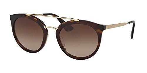Prada Damen Sonnenbrille 0PR23SS 2AU6S1, Braun (Havana/Brown), 52
