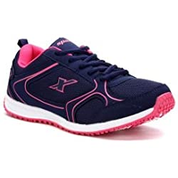Sparx Women's Dark Voilet Pink Mesh Running Shoes (SX0088L)-8 UK