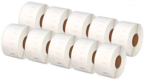 Printing Saver 10x 99012 36 x 89 mm Rollos Etiquetas