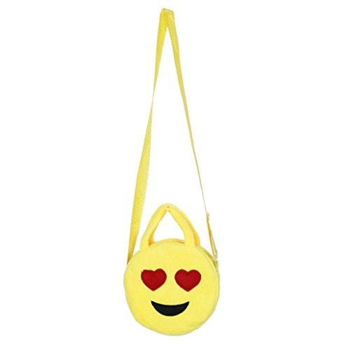 Imagen de bolso  para mujer sannysis mujeres emoticon bolso de hombro impresión emoji 02  alternativa