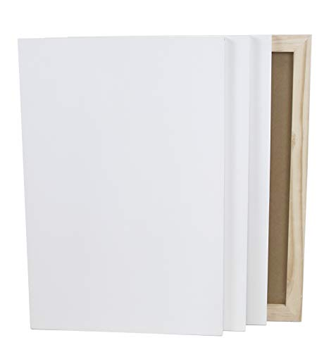 Paintersisters Malgrund aus Holz, weiß grundiert, Malplatte aus MDF