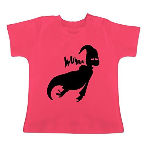 Anlässe Baby - Geist - 18-24 Monate - Fuchsia - BZ02 - Baby T-Shirt Kurzarm