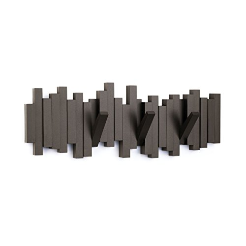 Umbra Garderobe Sticks Multi Hook 5, Espressobraun
