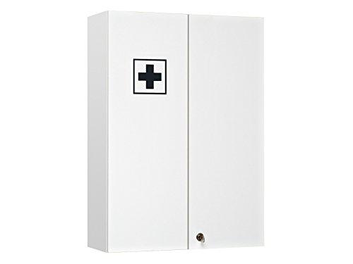 "Medizinschrank Arzneischrank Medikamentenschrank Hausapotheke Badmöbel \""Adan I\"" 50 cm"