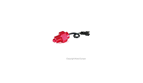 Koso 360 086 Temperatursensor 1 8 Npt Gewinde Mit Koso Adapterkabel Auto