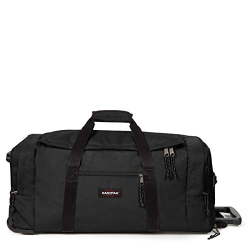 Eastpak Leatherface L + Reisetasche, 86 cm, 104 Liter, Black