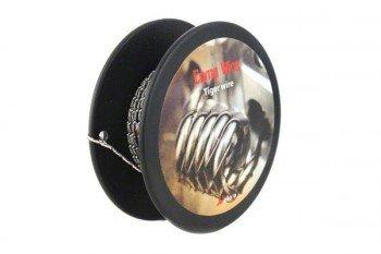 WoToFo Tiger Wire Kanthaldraht A1 Größe 0,3mm 28GA 3m
