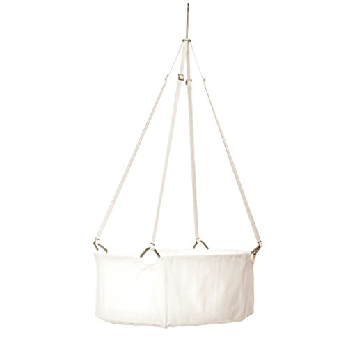 LEANDER Cradle includes Mattressand and Ceiling Hook
