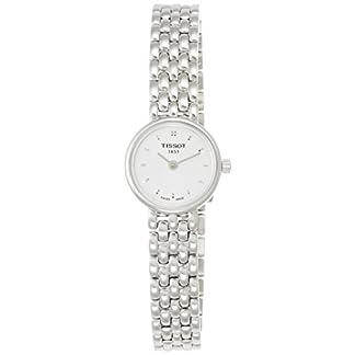Tissot Lovely T0580091103100 – Reloj de Mujer de Cuarzo, Correa de Acero Inoxidable Color Plata