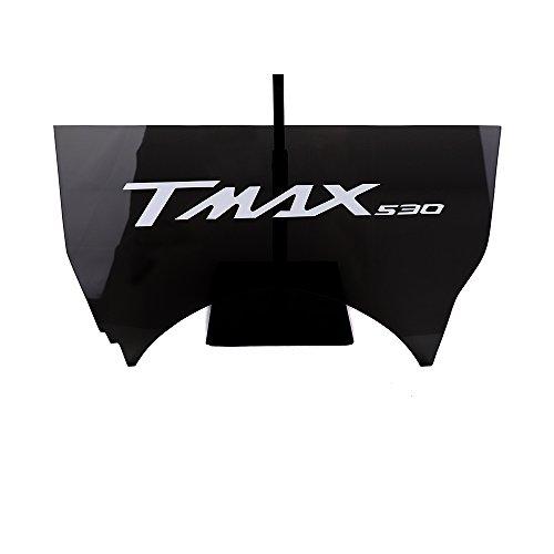 Rand Lagerung (T Max 530Partition Raumteiler Gepäck Rand Lagerung Behälter Splitter Sitze Isolierung Panel Trennwand Platz Fach Motorrad für Yamaha T-Max Tmax 530tmax53020122013201420152016 Grigio Fumo)