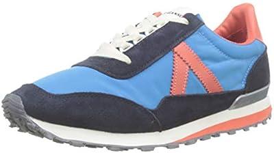 El Ganso Track Nylon, Zapatillas para Hombre, Blanco,