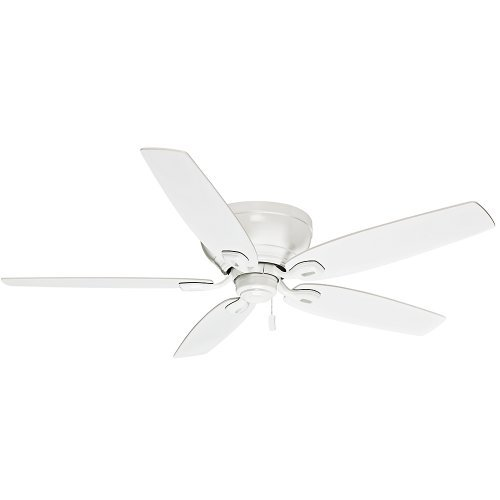 Casablanca Fan Company 54103 Durant 54-Inch Snow White Ceiling Fan with Five Snow White Blades by Casablanca - Casablanca Fan Blade