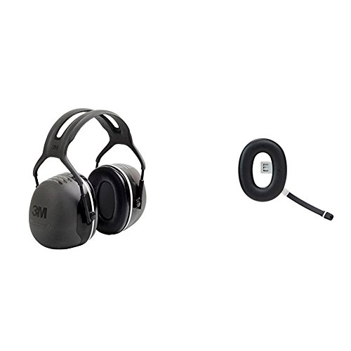 3M Peltor Kapselgehörschutz X5A mit 3M Peltor Ohrenschützer Zubehörteil