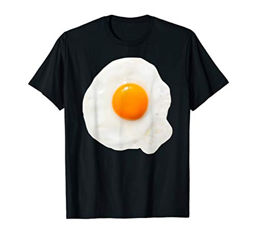 Spiegelei Halloween Kostüm Eigelb Frühstück Diät Geschenk T-Shirt
