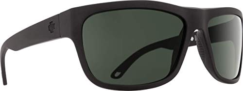 SPY OPTIC Angler Sonnenbrille Matte Black - Happy Gray Green