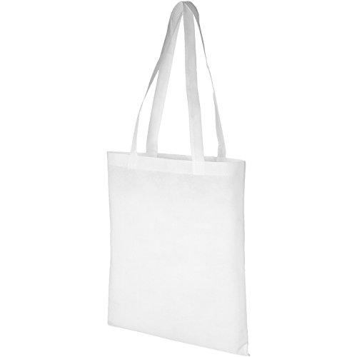 Shopper convention - giallo solido bianco