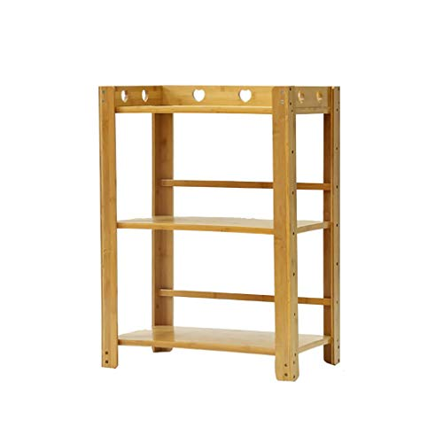 Yuang Küchenregale Aufbewahrungstopf Ständer Mikrowellenregal Backofen Utensilien Gestel