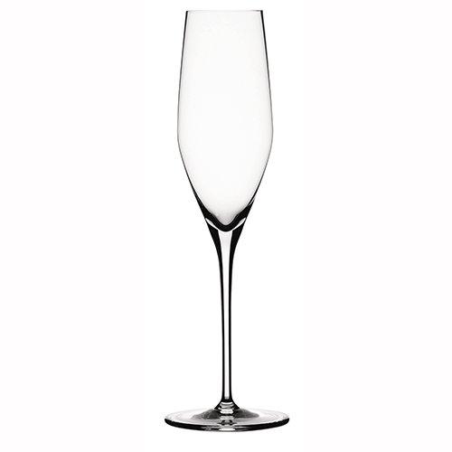 Spiegelau & Nachtmann - Authentis - Verres à vin et carafe à décanter, Champagnerflöte, Lot de 4
