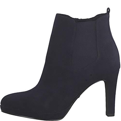 Tamaris Damen Stiefeletten Blau, Schuhgröße:EUR 38