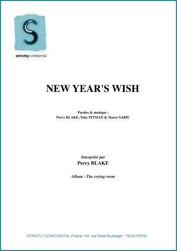 NEW YEAR'S WISH