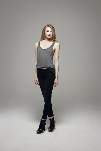 Bella CanvasDamen T-Shirt Schwarz - Schwarz