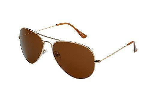 Ravs Flieger Sonnenbrille Pilotenbrille XXL Gläser inklusive Softbag Top Gun Style