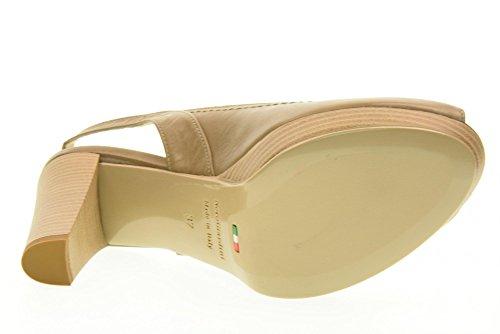 NERO GIARDINI scarpe donna decolletè aperto P717570D/439 Sabbia